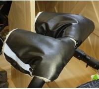 Муфта раздельная на коляску экокожа