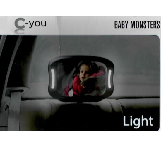 Зеркало с подсветкой Baby Monsters С-you
