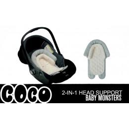 Анатомический  вкладыш для автокресла  Baby Monsters Coco 2 в 1