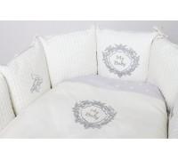 Комплект для круглой (овальной) кроватки Lappetti Мой малыш арт.6044