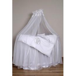 """NEW! Комплект для круглой (овальной) кроватки Lappetti  """"Sweet Teddy"""" арт.6052"""
