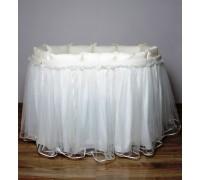 Подзор на кроватку Lappetti В4 (юбка с бампером)