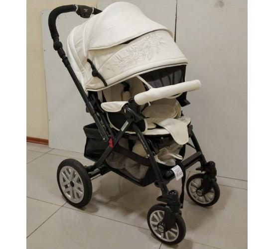 Детская коляска Capella S-803WF (кожа)