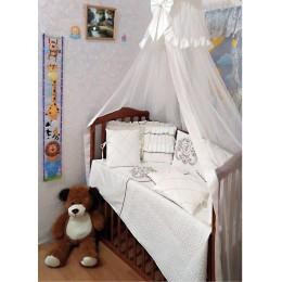 """Комплект в детскую кроватку """"Shic"""" 18 предметов Арт. 005"""