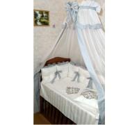 """Комплект в детскую кроватку """"Vinchi Silver"""" 18 прд. Арт. 036S"""