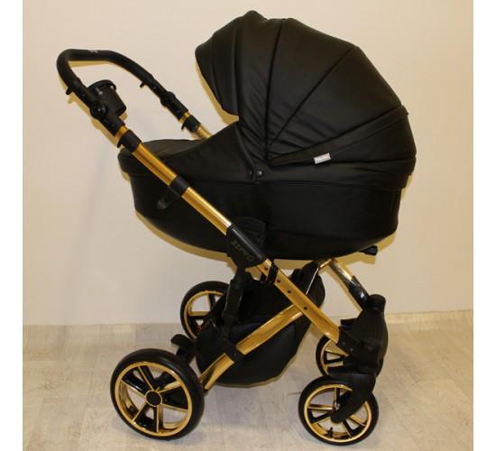 Детская коляска Baby Merc Zipy Q limited edition кожа 3 в 1