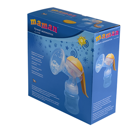 Ручной молокоотсос Maman LS-A06
